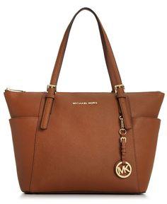 332f9f5e230980 MICHAEL Michael Kors Handbag, Jet Set East West Top Zip Tote - Shop All  Michael. Macys