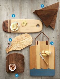 This batch of fine handcrafted cutting boards is anything but workaday.