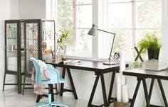 32 Ikea Home Office Design Ideas. If you begin a house business you will probably need a workplace. You'd want to make certain that your home office if you've got one looks fantastic, . Mesa Home Office, Home Office Desks, Home Office Furniture, City Furniture, Ikea Home-office, Ikea Desk, Ikea Workstation, Ikea Workspace, Ikea Chair
