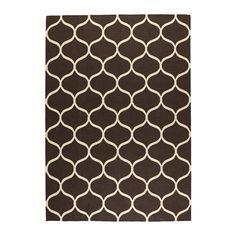 1300kr IKEA - STOCKHOLM,  170 x 240 cm. Tæppe, fladtvævet, Den slidstærke og smudsafvisende uldoverflade gør tæppet perfekt i stuen eller under spisebordet.Tæppet har samme mønster på begge sider, så du kan vende det, og det kan holde endnu længere.