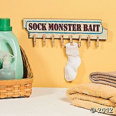 Sock Monster Bait, how cute!
