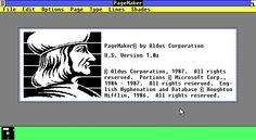 pagemaker 1.0 - Sök på Google