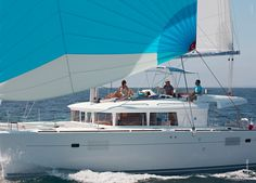 Take your friends on a cruise of the stellar Greek waters aboard the 'Anafi' Lagoon 450