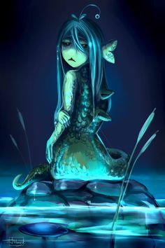 Shyren by MilenaHide on DeviantArt