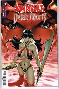 Vault 35 Vampirella Dejah Thoris #4 Cover B NM 2018 Dynamite