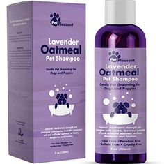[ HONEYDEW Colloidal Oatmeal Dog Shampoo with Pure Lavender Essential Oils - No Tear Shampoo for Dry Itchy Skin Relief - Pet Odor Eliminator - Grooming Shampoo ] Supplies & Conditioners Best Dog Shampoo, Natural Dog Shampoo, Puppy Shampoo, Dog Grooming Supplies, Pet Grooming, Dog Supplies, Poodle Grooming, Dry Flaky Skin, Dry Skin