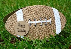 "Could put ''you are invited"" instead of ""happy birthday"" on the invites for a tailgate party!"