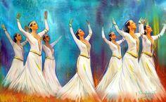 Armenian dance -