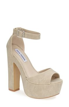 Steve Madden 'Whitman' Ankle Strap Platform Sandal available at #Nordstrom