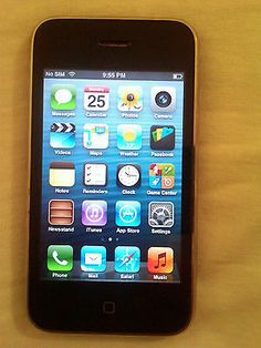 GOOD CONDITION Apple iPhone 3GS 8GB WIFI Camera Phone Unlocked #117 | eBay