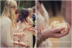 Popcorn Wedding confetti