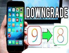 Downgrade iOS 9 to iOS 8