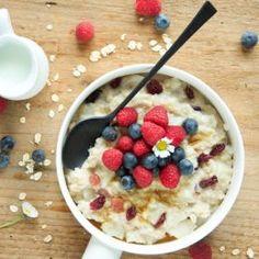 Come fare il porridge, per una sana colazione Vegan Fashion, Muesli, Biscotti, Street Food, Italian Recipes, Food To Make, Oatmeal, Clean Eating, Sweets