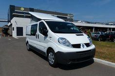 #Campérêve #Mirande (Renault Trafic) Fourgon aménagé en stock : http://www.starterre-campingcar.fr/camping-car?marque=Campereve