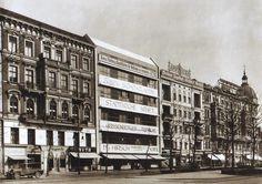 Berlin, Tauentzien Neue Fassade  im gründerzeitlichem Umfeld, 1927.