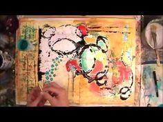 A journey through art journaling with artist Suzi Dennis.Other places to find Suzi's art go to www.suzisart.blogspot.com www.suzimadeworkshops.blogspot.com; time 9:54; Oct 16, 2014