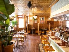 The restaurant from Ann Redding and Matt Danzer features American diner classics with a Thai twist Best Thai Restaurant, Four Restaurant, Restaurant Seating, Restaurant Ideas, Manhattan Restaurants, City Restaurants, Booth Seating, Bar Seating, Steamed Oysters