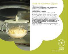 Tazón de macarrones y queso