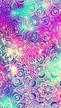 Summer Lilly Pulitzer Wallpaper Home Screen – Cute Galaxy Wallpaper, Cute Wallpaper Backgrounds, Wallpaper Iphone Cute, Pretty Wallpapers, Colorful Wallpaper, Textured Wallpaper, Paisley Wallpaper, Paisley Art, Design Mandala
