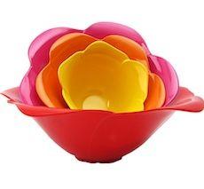 Nesting Flower Bowl Set