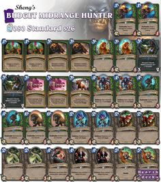Want to play Midrange Hunter on a shoestring? Find more budget decks on our website! #Hearthstone