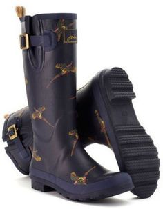 Joules Patterned Wellies