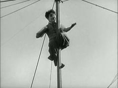 Charlie Chaplin's flying pole ballet:  The Circus, 1928