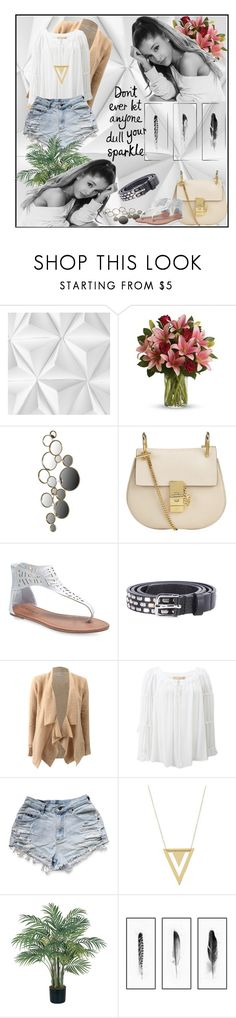 """Ariana Grande"" by goharkhanoyan ❤ liked on Polyvore featuring Mr Perswall, WALL, Chloé, Wet Seal, Diesel, Casmari, Michael Kors, Gorjana, Nearly Natural and Kim Salmela"