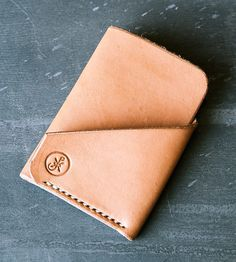 LC Minimalist Leather Wallet | Keep your goods within reach with this minimalist leather wall... | Wallets & Money Clips