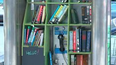 N.Y. Designer Puts Lending Libraries Into Pay Phone Kiosks - NYTimes.com