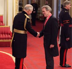 Congratulations to Hugh for being awarded a CBE for services to drama. House Md, Clarence House, Hugh Laurie, Prince Of Wales, Prince Charles, Buckingham Palace, Awards, Actors, Celebrities