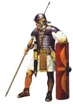 Orden de Batalla. Historia Militar: Legionario de la época imperial (A. McBride)