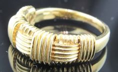 Ferro Jewelers - Gold & Silver Jewelry | 18ky Roberto Coin Woven Ring