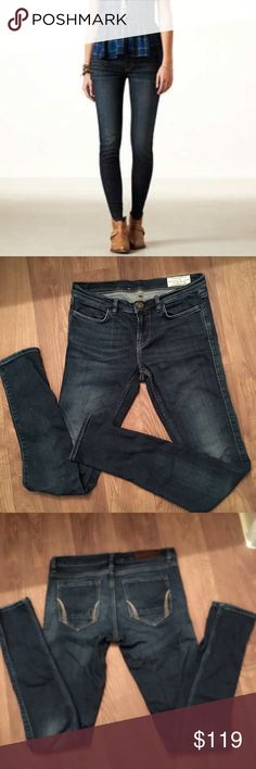 Allsaints Spitafield dark wash jeggings Super soft stretch jeggings from Allsaints worn and washed once , excellent new condition no rips or stains sz 29 All Saints Jeans Skinny