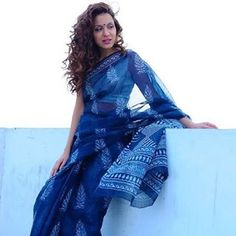 summer ... blue hues ... #Indigo ... Dabu prints ... fabulous cotton