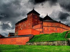 Hämeen linna, Finland Loved the small doorways!