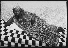 Seydou Keita: Self taught he practiced as a studio photographer in Bamako, Mali from 1948 to 1962 when he became the official photographer to the government.
