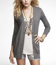 Shorts with sweater - great for GA weather!