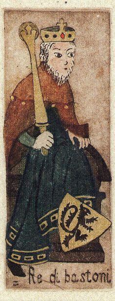 King of Wands - La Corte dei Tarocchi