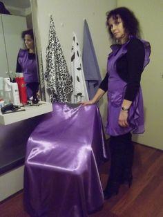Salon cape fetish
