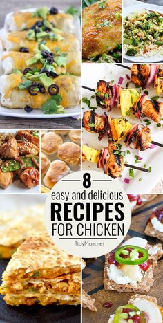 Whether it's grilled, baked, roasted or sautéed, I can count on chicken recipes…