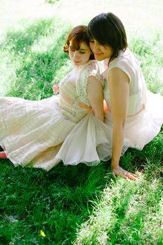 Brigid & Ximena's Church & Croquet Wedding A Practical Wedding: Blog Ideas for the Modern Wedding, Plus Marriage