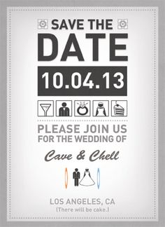 www.geekvites.com: Triumph Save The Date Front