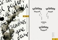 poemas graficos - Buscar con Google Pdf, Teaching, Google, Onion, Sad, Words, Books, Hipster Stuff, Learning
