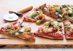 Flat Belly Meals That Blast Fat - Southwestern Shrimp Pizza