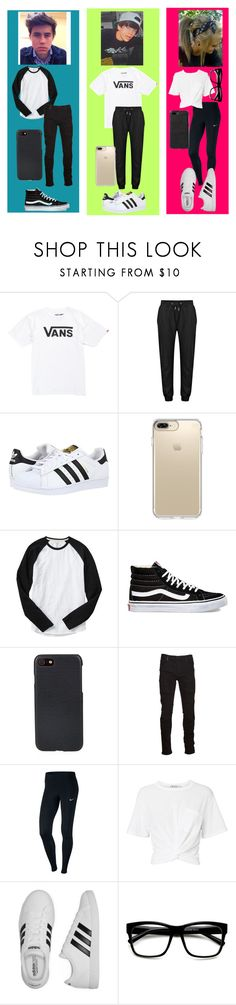 """Hanging with the Grier's"" by ivythegreat on Polyvore featuring Vans, adidas Originals, Speck, Gap, Shinola, Marcelo Burlon, NIKE, T By Alexander Wang and adidas"