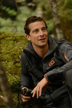 Bear Grylls with his Craghoppers gear filming Abraham Lincoln Life, Man Vs Wild, Bear Grylls Survival, Celebrities Then And Now, Celebrity Crush, Role Models, Actors & Actresses, Gentleman, Tv Shows