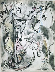 Jackson Pollock | Untitled  1945. The Metropolitan Museum of Art. Jr