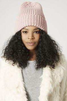 Beanie Outfit, Beanie Hats, Knit Beanie, Knit Fashion, Teen Fashion, Jamaican Girls, Curly Hair Styles, Natural Hair Styles, Pink Beanies