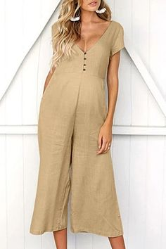 The new maternity pants summer women sleeveless pregnancy maternity pants solid ladies summer jumpsuit with hsort sleeve is so casual and you will like it. #maternityjumpsuit #maternityjumpsuitoutfit #maternityjumpsuitoutfitrompers #maternityjumpsuitsummer #maternityjumpsuitfashion Rompers Women, Jumpsuits For Women, Fashion Jumpsuits, Long Romper, Summer Romper, Black Romper, Beach Playsuit, Summer Jumpsuit, Fashion Clothes